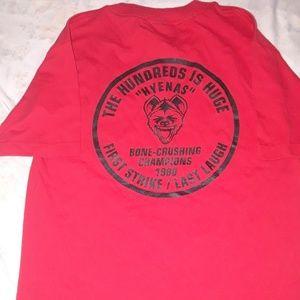 The hundreds brand t-shirt